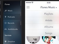 Bitrate — Player for iPhone [Navigation]
