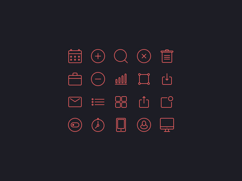 Small icons set [Freebie] icon small iphone ipad ios7 app set