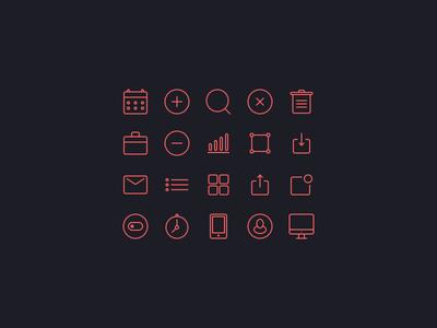 Small icons set [Freebie]
