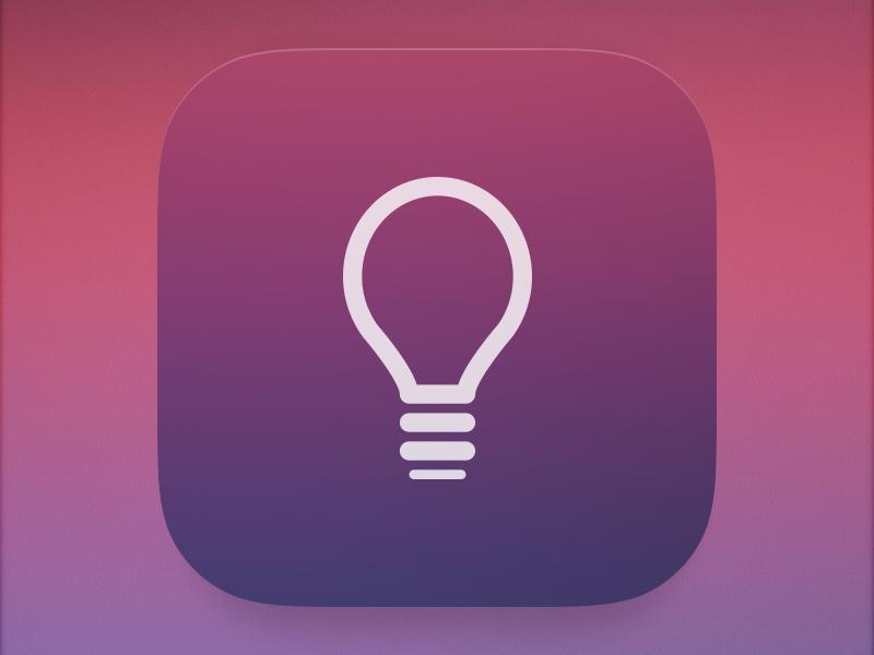 Icon gradient