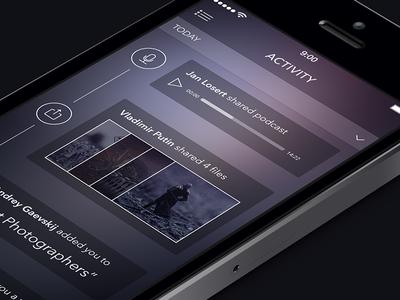 Activity Screen [ewebdesign.com]