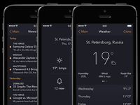 WRNC App [Weather, News and Main Screens]