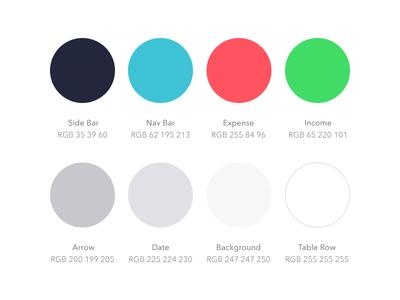 Palette for Finance App