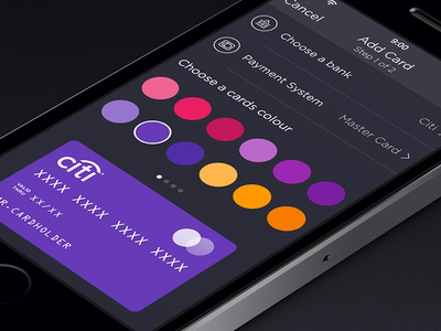 Walle Finance App [v2.0 Add Card] app ui ios7 ipad iphone walle finance creative market