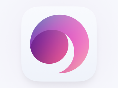 Secret Icon ipad iphone ios7 icon purple