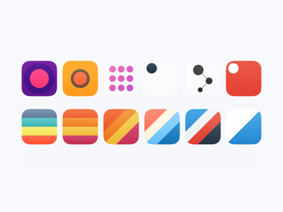 Icons for Secret App