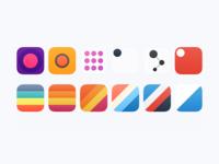 Icons for Secret App