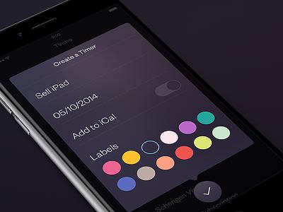 Timee [Create a Timer] app iphone ipad ios8 timee
