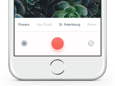 Simple photo sharing idea streams capture photo iphone ipad ios app