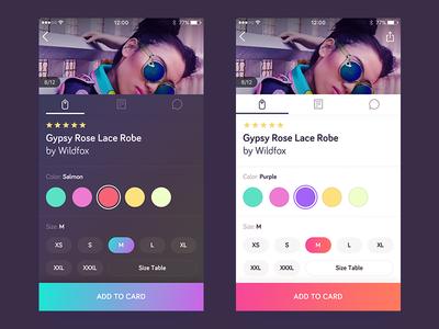 Shopping App Light Redesign