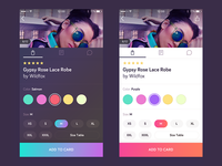 Shopping App Light Redesign