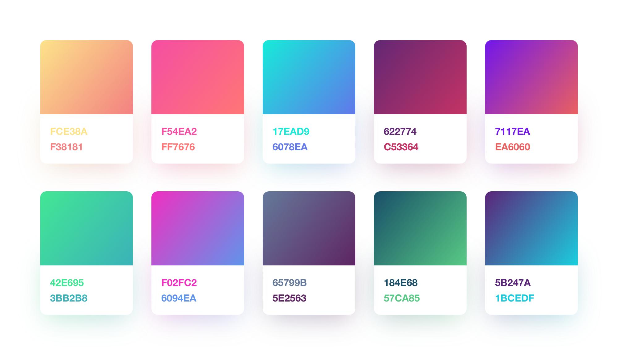 Skecth gradients