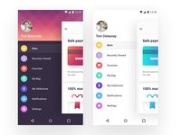 SideBar for Android App