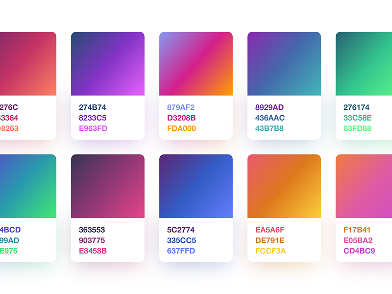 3-Step Gradients [Freebie] app sketch ios iphone ipad android freebie gradient gradients