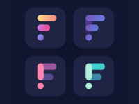 «F» logo and icon