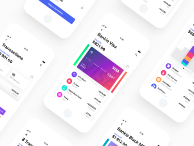 Bankie UI Kit — Light Version