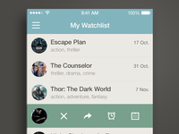 My Watchlist