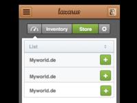 Mobile Webapp-UI