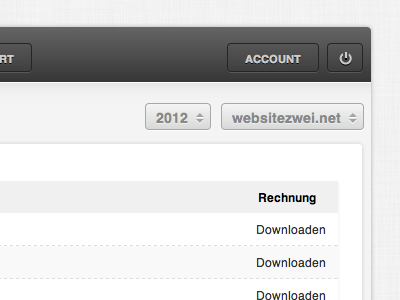 stil an;zeigen Webapp stilanzeigen webapp ui startup