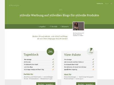 stilanzeigen Website Redesign stilanzeigen