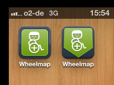 Wheelmap Iphone Icon iphone icon wheelmap