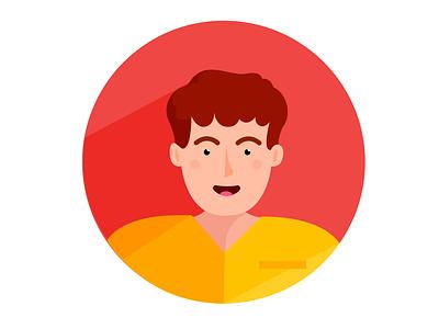 Person no.9 ux ui colors man vector profession nurse people illustrator illustrations illustration icon human hair flat icons flat icon design flat icon flat flat design design