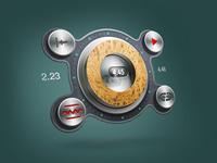 Macro wheel
