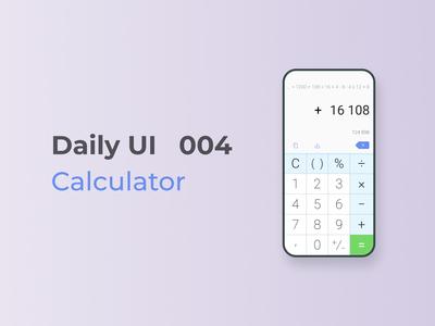 DailyUI 004