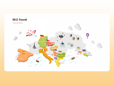 Interactive map of recipes from different countries idea food illustration interaction design map food map webdesign ux ui organic foodshop eko eco designer design