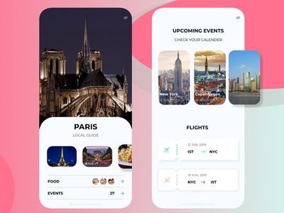 Travel App travel travel app website concept adobe xd design icon app app concept minimal daily challange design concept illustration ux app design interaction ui daily ui typography flat