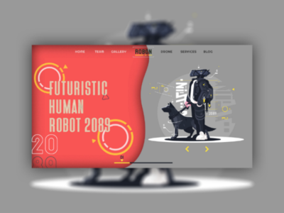 Robot web Design
