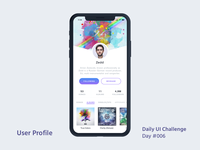 Daily UI Design Challenge #006 - User Profile