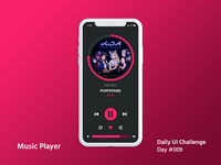 Daily UI Design Challenge #009 - Music Player