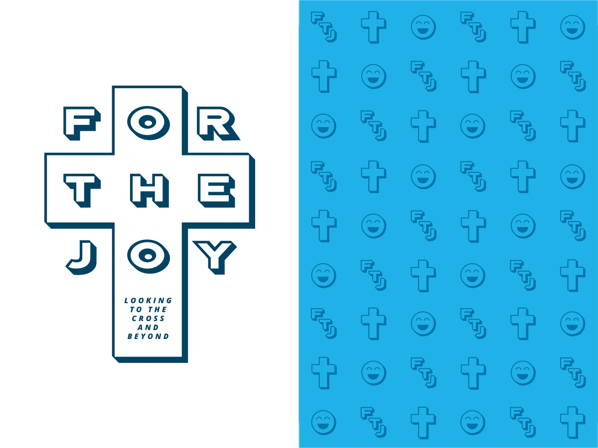 For the Joy Series Look & Feel Concept pattern custom typography art illustrator custom font minimal type identity icon logo typography flat illustration branding vector design