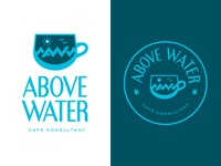 Above Water Café Consultant Logo