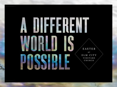 A Different World Is Possible