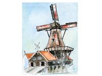 Netherlands. Windmill