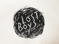 Lost Boys Linocut