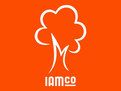 IAMCO Mowing Company Logo landscaping tree mowing logo