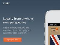 Fidel App - Website Release