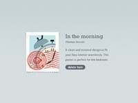 Dribbble stamp xl