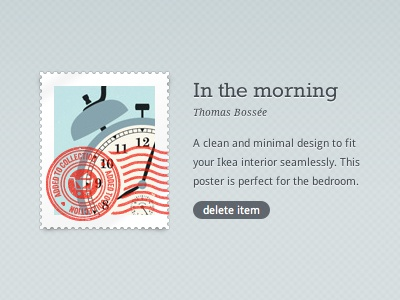 Dribbble stamp thumb