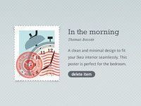 Free stamp psd including live demo