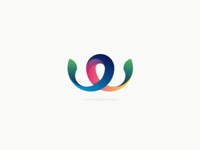 Weway Media (incl. guidelines) logo proposal wip branding identity corporate swirl curl belgium