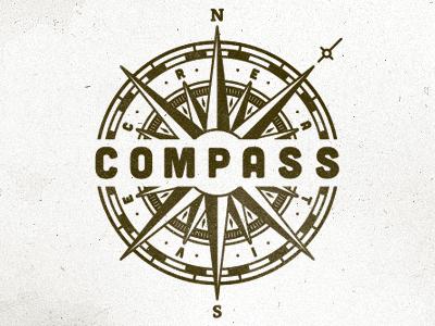 Compass Creative logo branding identity corporate uk wip