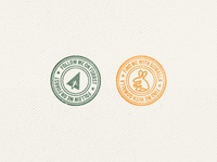 Forrst & Gowalla Stamp
