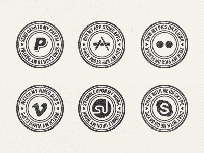 Put A Stamp On It texture ui grunge webdesign badge stamp social media belgium