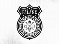 Falanx Soccer Badge (v2)
