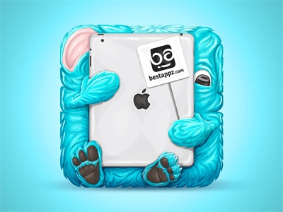 Best iPad Appz icon icon character illustration ipad apps app icons