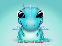 A baby dragon-like creature